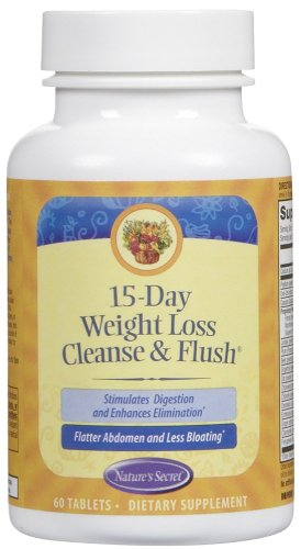 Nature'S Secret 15 Day Wgt Loss Clns&Flsh 60 Tab by Nature's Secret