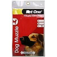 Dog Muzzle Adjustable Large (Pet One)