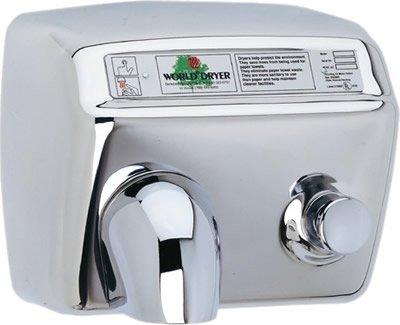 World Model DA5-973 Stainless Steel 208/230 Volt Hand Dryer ()