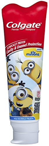 Colgate Kids Minions Toothpaste, 4.6 Ounce -