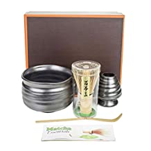 Tea Master Japanese Matcha Green Tea Ceremony Starter Kit Gift Set