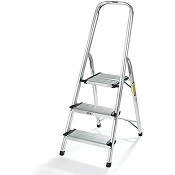 Polder 3 Step Ultralight Ladder Aluminum Stepladders