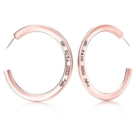 3f5e10ec54c6b Tiffany And Co 1837 Hoop Earrings: Amazon.ca: Cell Phones & Accessories