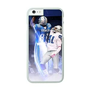 NFL Case Cover For HTC One M9 White Cell Phone Case Detroit Lions QNXTWKHE0984 NFL Plastic Phone protector