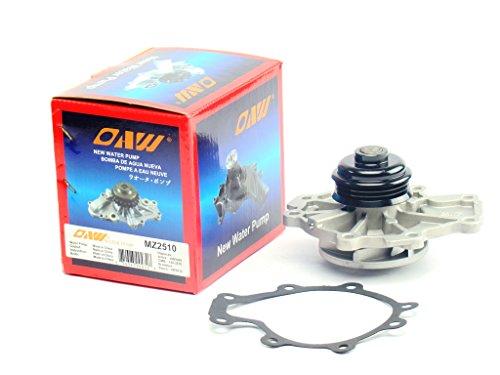 OAW MZ2510 Engine Water Pump for 03-08 Mazda 6, 06-08 Ford Escape & mercury Mariner, 06-09 Ford Fusion & Mercury Milan V6 3.0L (Mazda 6 Water Pump)