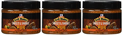 Sweet Rub - McCormick Grill Mates Sweet & Smoky Rub, 4.76 OZ (Pack of 3) (Pack - 3)