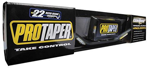 Pro Taper Contour Handlebars - Oversized 1-1/8 (Woods High) (Jet Black) (Mounts Pro Taper Bar)