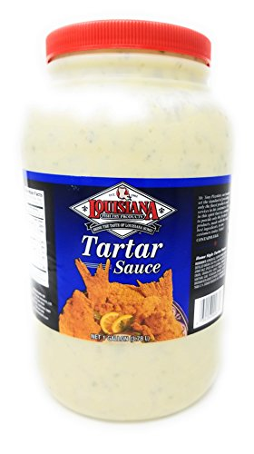 Louisiana Fish Fry Homestyle Tartar Sauce 1 Gallon Container