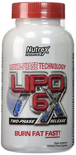 Nutrex Lipo 6x Supplement, 240 Count by Nutrex
