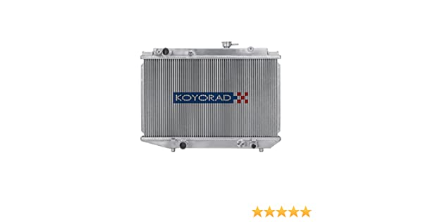2 ROW Aluminum Radiator fit for TOYOTA COROLLA AE86 MT New 1984-1987 1985 1986