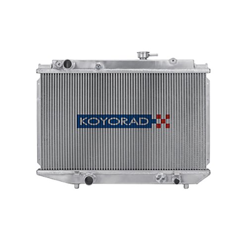 - Koyorad VH010681 Racing Radiator for Toyota Corolla with Engine Swap