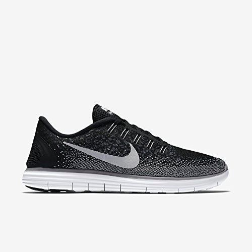 Nike Damen Wmns Free RN Distance Laufschuhe, Negro (Black / White-Dark Grey-Wlf Grey), 39
