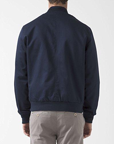 FRED PERRY - - Homme - Blouson Coton Tramline Bleu Marine pour homme