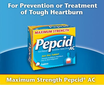 Pepcid AC Maximum Strength Acid Reducer - 100ct. by Pepcid