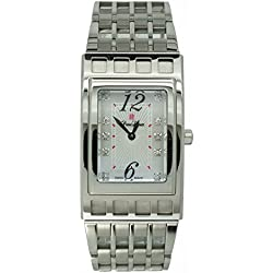 Pierre Laurent Men's 10-Diamond Watch, 63151