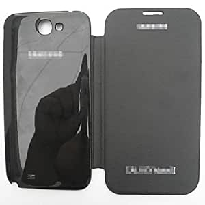 Solid Color PU Leather Full Body Case for Samsung Galaxy Note2