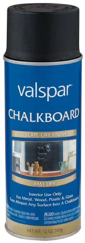valspar chalkboard paint - 5