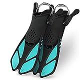 Greatever Snorkel Fins Adjustable Buckles Open Heel