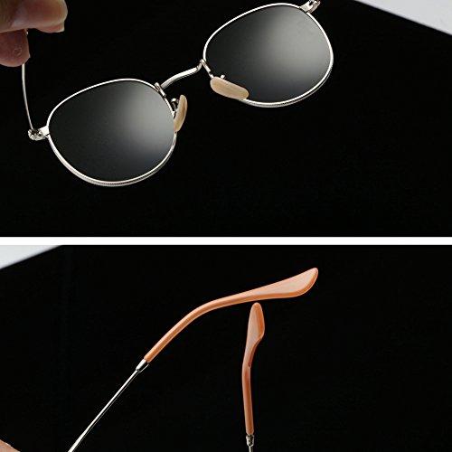 356e260043 Joopin-Men Retro Brand Polarized Sunglasses Women Vintage Round Sunglasses  (Dark Green