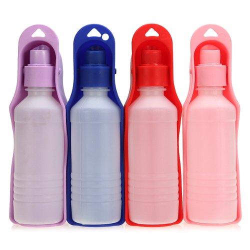 Marke Kunststoff Hund Reisen Wasserbabyflasche 250ml Hot Bowl.