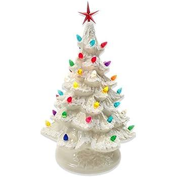 starry night 15 lighted ceramic christmas tree 15