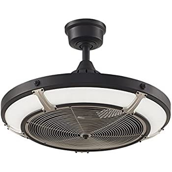 Parrot Uncle Ceiling Fan With Light 46 Inch Industrial