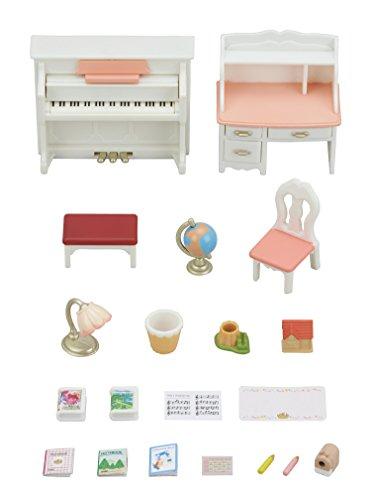 Critter House Room Furniture - Calico Critters Cc1746 Doll Furniture Set, Multi