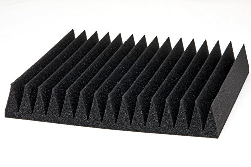 "6 Pack 12"" X 12"" X 2"" acoustic sound foam studio panels 15 sharp wedges - Remove Noise & Enhance Sound Quality by-beefoam - Image 7"