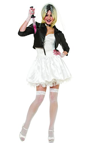 Bride of Chucky Adult Costume (Small (The Bride Of Chucky Halloween Costumes)
