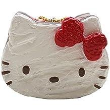 Sanrio Japan Kawaii sweet Hello Kitty strawberry chocolate shortcake squishy.