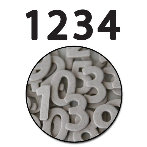 Maya Road Jonathan Mini Chipboard Numbers ()