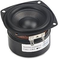 DROK 25W 3 Inch Square Shape 8 Ohm Woofer Speaker Stereo