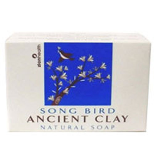 Zion Health Clay Bar Soap, Song Bird, Pack of 3