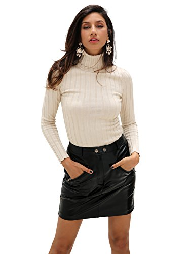Simplee Femme Apparel Roul Pull Col rwvqXxYv