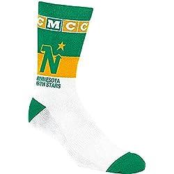 CCM C236Z NHL Hockey Socks - Minnesota North Stars - 9.0-11.0 - White