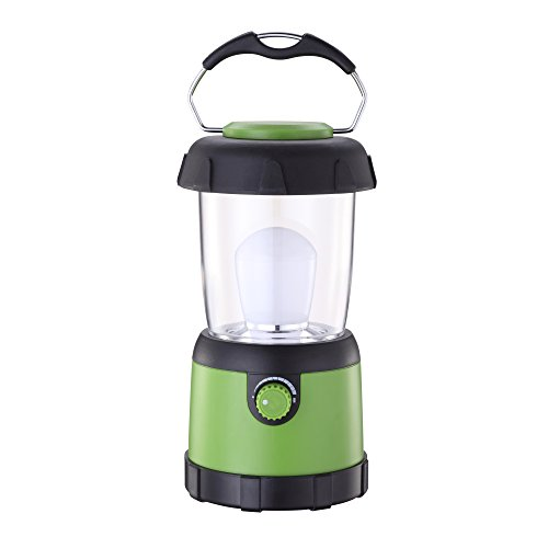 Portable LED Camping Lantern Lights Waterproof Outdoor Camping Lantern Flashlight for Emergency, Hurricane, Outage(4AA Battery Powered)