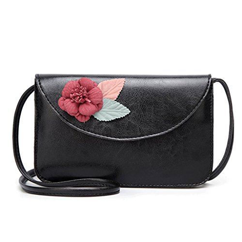 à 4 PU sac carré Couleur Sac diagonale petit rouge en bandoulière Femme main rétro sac fleur Sac à à Handbag main A cuir Iq7fEx4EBw