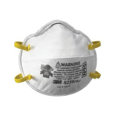 3M Safety 142-8210PLUS N95 8210Plus Particulate Respirato...