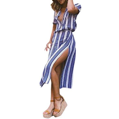 DAISUKI ロングドレス レデイース リゾート ボーダー ワンピース 海 パーティー ドレス ガールズ 夏 海外旅行 ビーチ ドレス