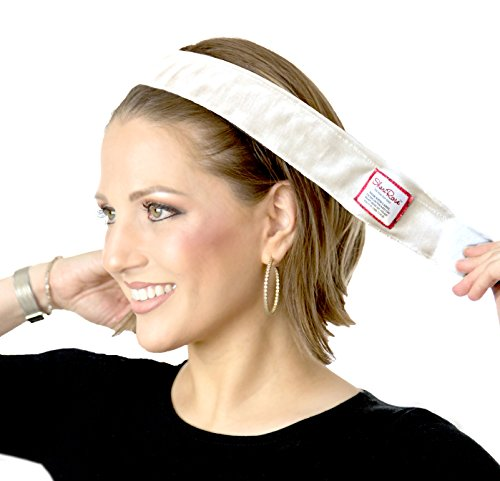 (ShariRose Non-Slip Head-Band Wig Grip Adjustable Headband for Under headscarves (Cream)