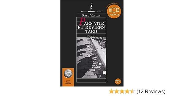Pars Vite Et Reviens Tard Livre Audio 2cd Mp3 French