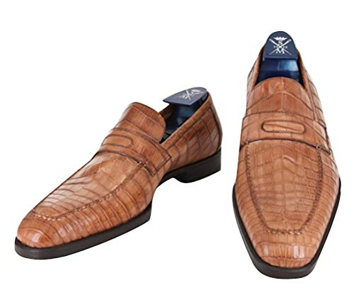 New Sutor Mantellassi Caramel Brown Shoes 10/9