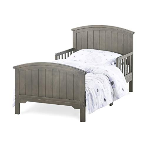 Forever Eclectic Hampton Arch Top Toddler Bed, Dapper Gray