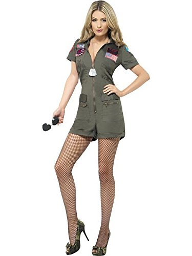 Women's Top Gun Aviator Costume ()