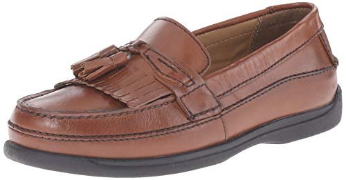 Dockers Men's Sinclair Kiltie Loafer,Antique Brown,11.5 M US