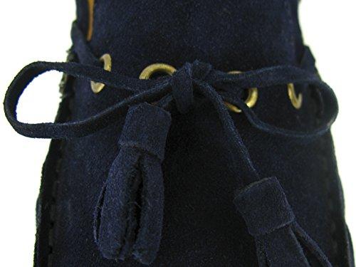 Cardin Mocassino pelle Pierre Pc1605be in blu navy blu 4BqBdRw