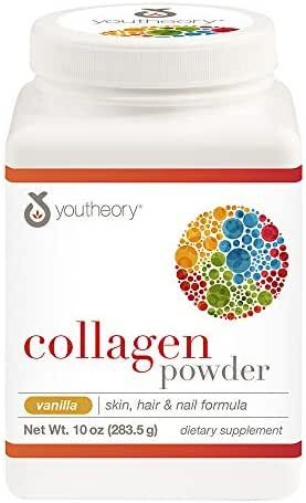 Youtheory Collagen Powder, Vanilla, 10 Ounce
