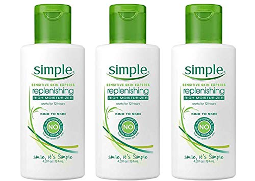 Simple Rich Moisturizer, 4.2 Ounce (Pack of 3)