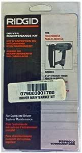 Ridgid R250AFA Angled Finish Nailers Driver Maintenance Kits # 079004001085-2PK