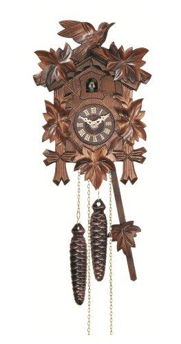 Engstler Quartz Cuckoo Clock 5-leaves, bird EN 522 Q
